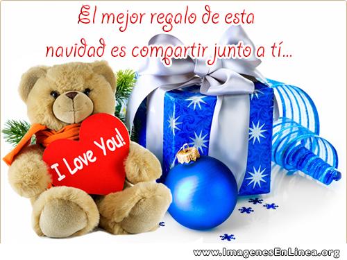 El mejor regalo de esta navidad es compartir junto a tí..., mensajes bonitos para navidad y compartir en Facebook.