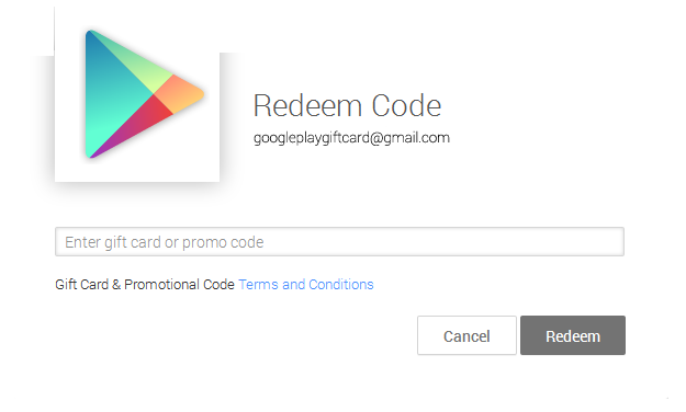 How To Use Google Play Gift Card Codes ?