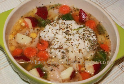 Crockpot Turkey Dumpling Stew Recipe