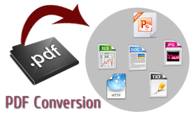 searchable PDF document creation and processing services
