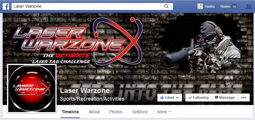 https://www.facebook.com/laserwarzone/timeline