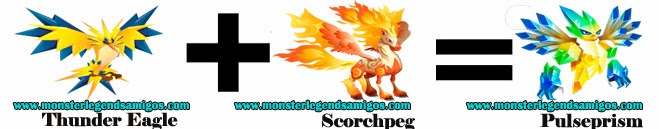 como obtener el monster pulseprism en monster legends formula 1