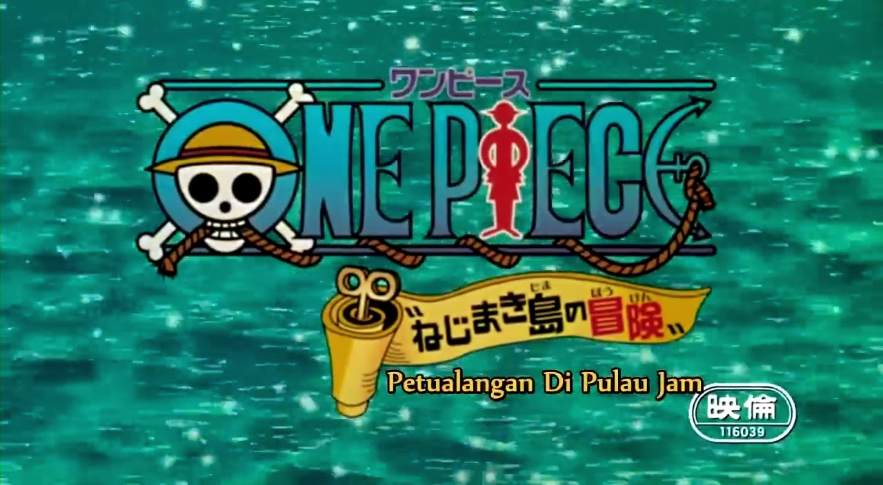 One Piece The Movie 2 The Adventure Of Jam Island Subtitle Indonesia