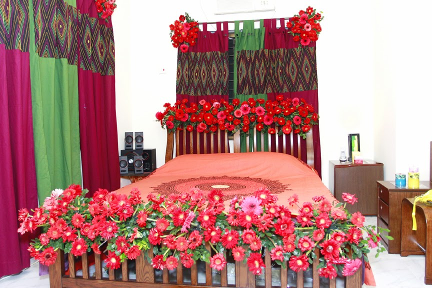 Bengali wedding guide wedding flower bed decoration ideas bengali simple wedding flower bed decoration junglespirit Choice Image