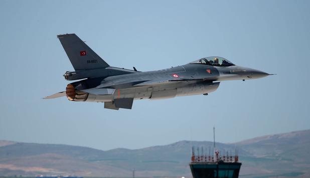Turkish air strikes against IS