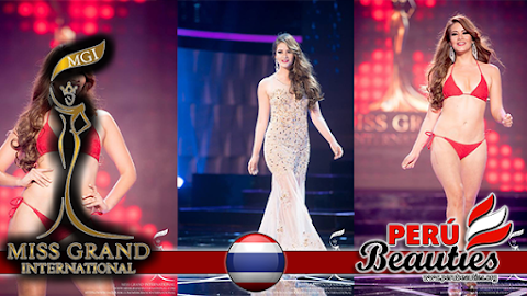 Perú en The Preliminary show competition - Miss Grand International 2015