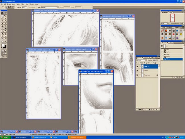 5 archivos separados listos para imprimir
