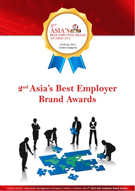 Asia's best employer award0, brand award