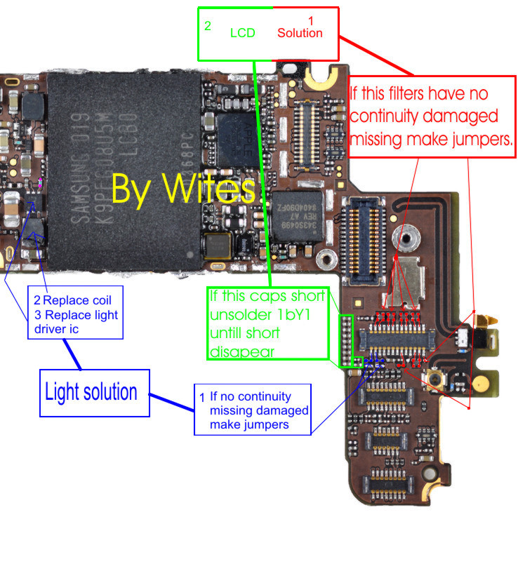 Iphone 4s схема аккумулятора - 067b
