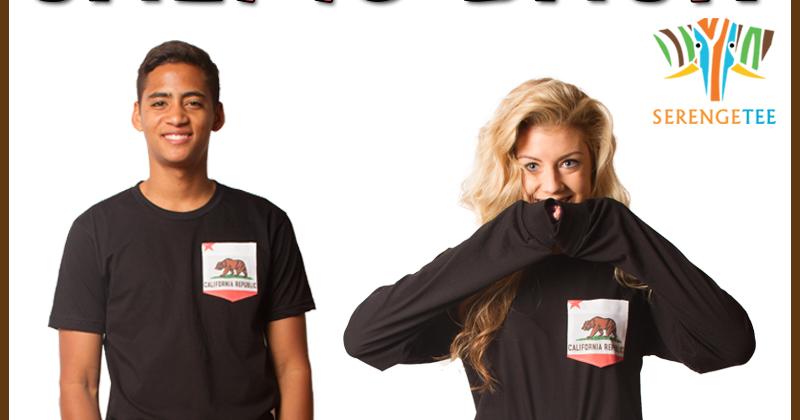 Bear Flag Museum: Cali is Back Serengetee California Bear Flag T Shirt