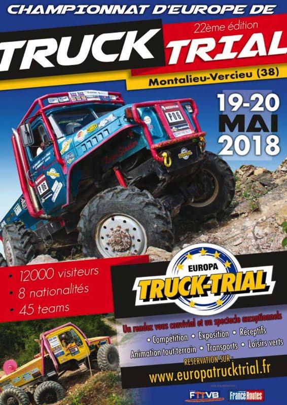 Europa Truck Trial 19 et 20 mai 2018