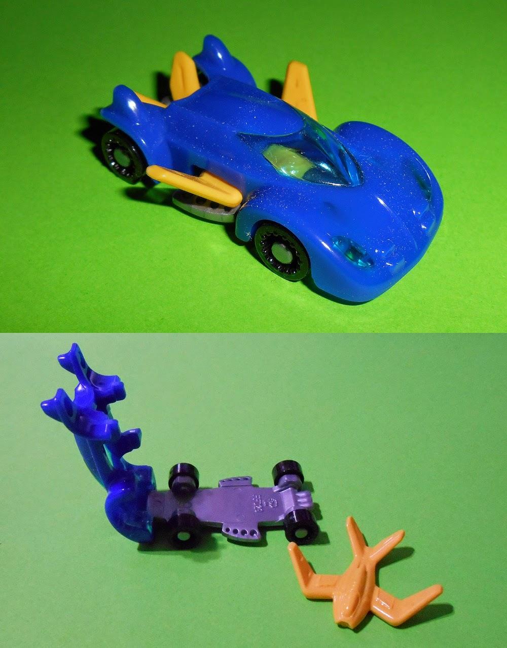 coche y avión de kinder sprinty ff029