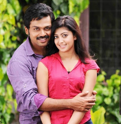 Karthi and Praneetha hot Stills