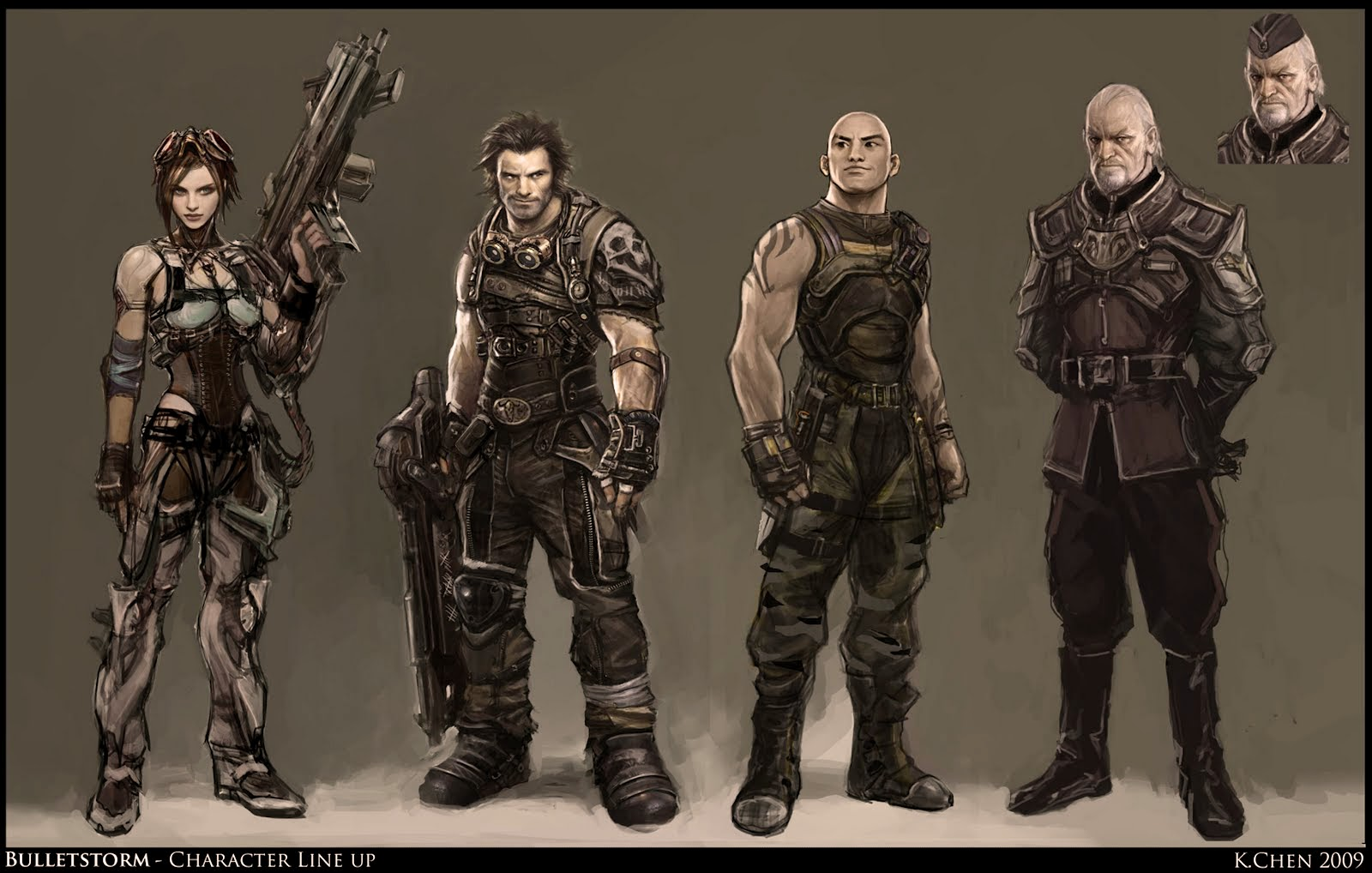 Character Design Gears Of War : Dsng s sci fi megaverse april