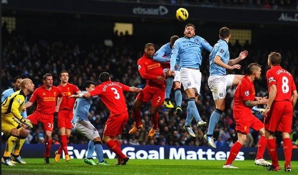 Prediksi Pertandingan Liverpool vs Manchester City 13 April 2014