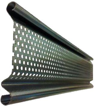 Lama microperforada hierro galvanizado