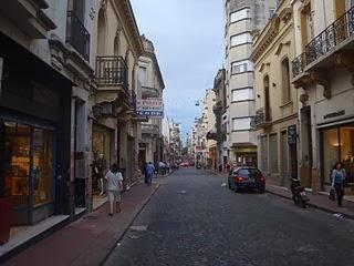 Calle Defensa, ciudad de Buenos Aires