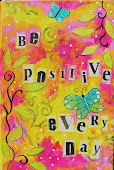 Be positive Art journal