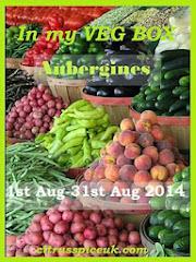 In my VEG BOX~ Aubergines