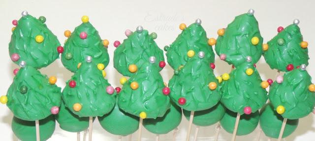 cake pop árbol de Navidad - 03