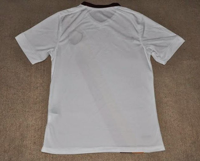 new AS Roma 2014-15 Nike Away Shirt