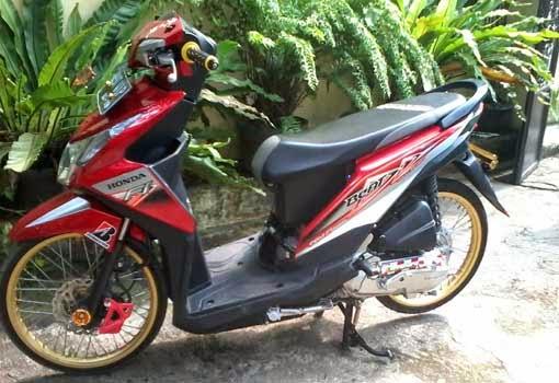 15 Foto Gambar Modifikasi Motor Honda Beat Fi Kumpulan Modifikasi