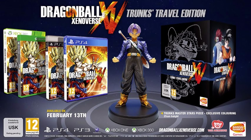 Dragon Ball Xenoverse Collector's Edition And Pre-Orders Announced - We Know Gamers