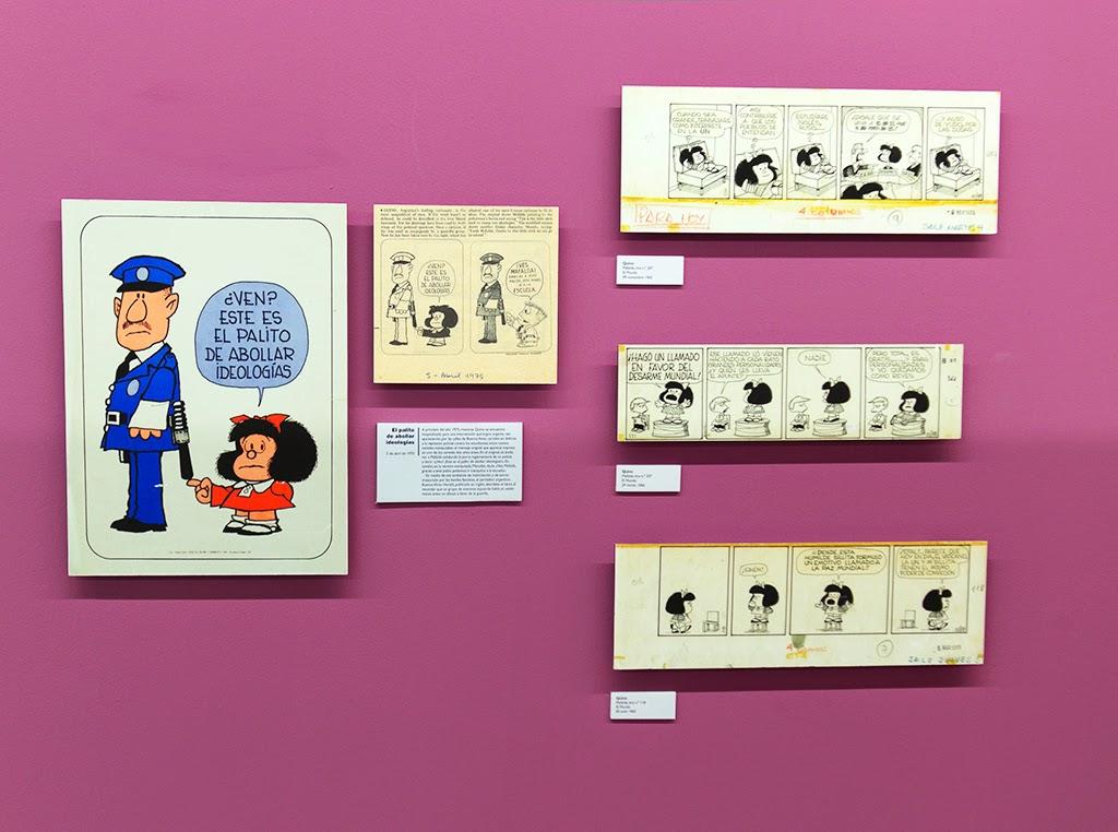Fotografías viñetas Mafalda