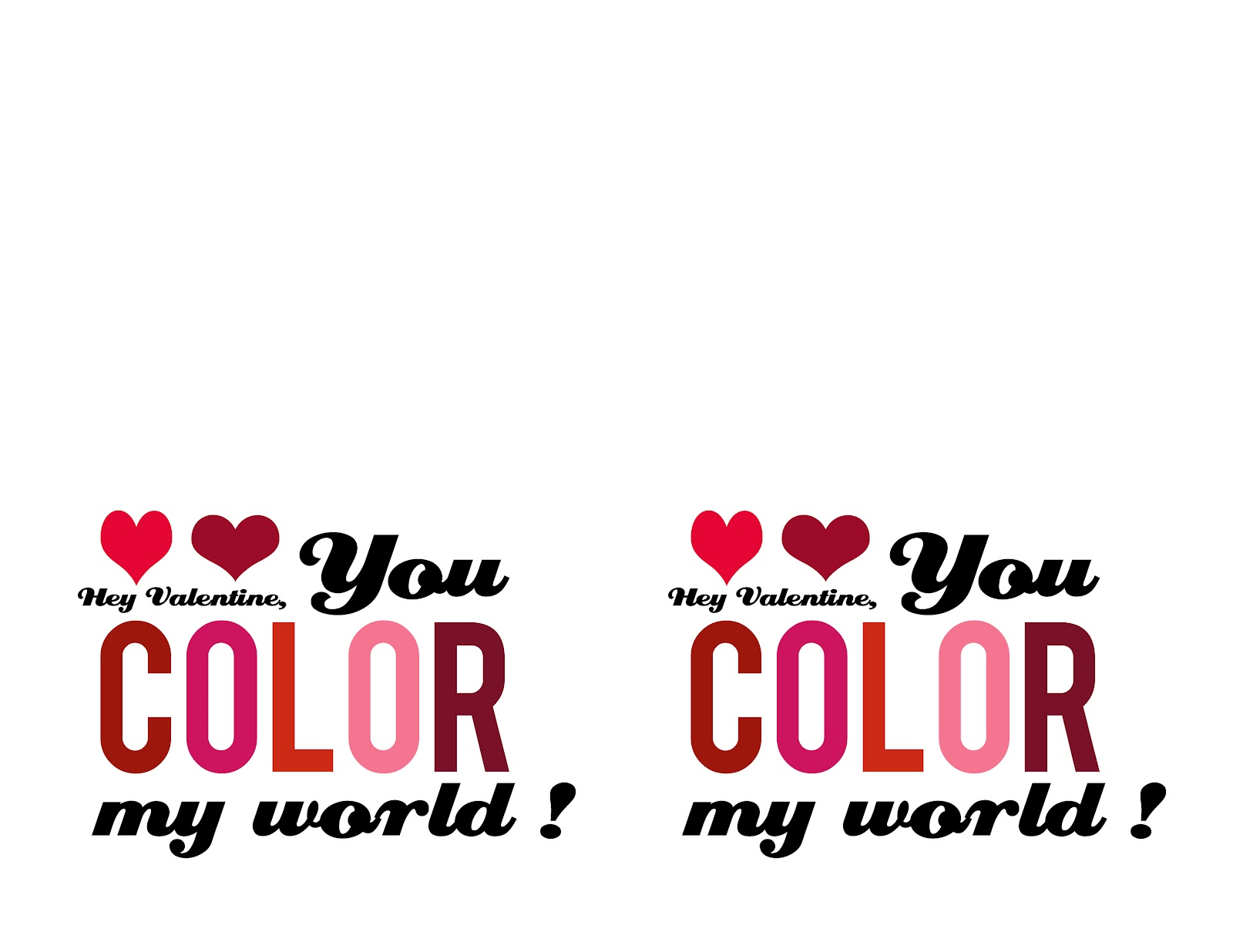 Beautiful You Color My World Ideas