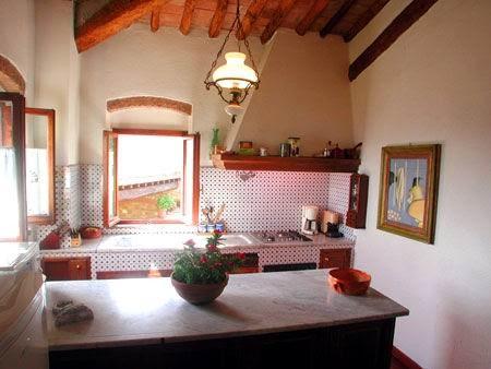 tuscan style kitchens desain desain rumah