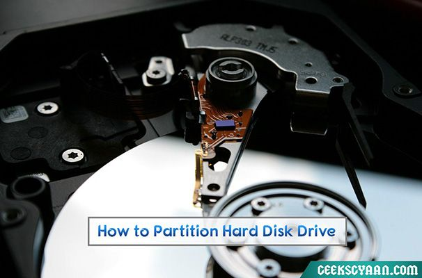How to Partition Hard Disk Drive Free in Windows 8.1/8/7/XP
