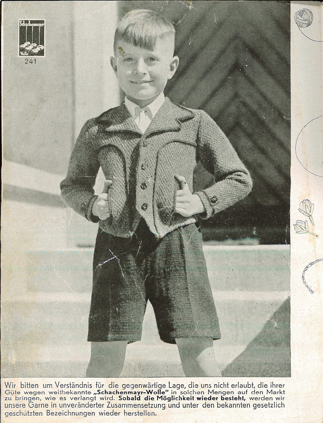 The Vintage Pattern Files: 1940s Knitting - Die Schachenmayrin 09 1942