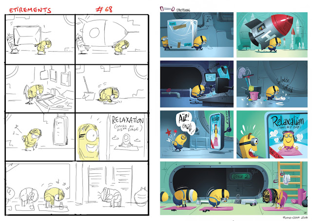 minions comic book album bd ah-koon