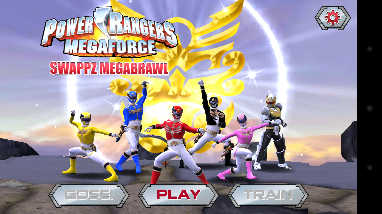 power rangers games only online