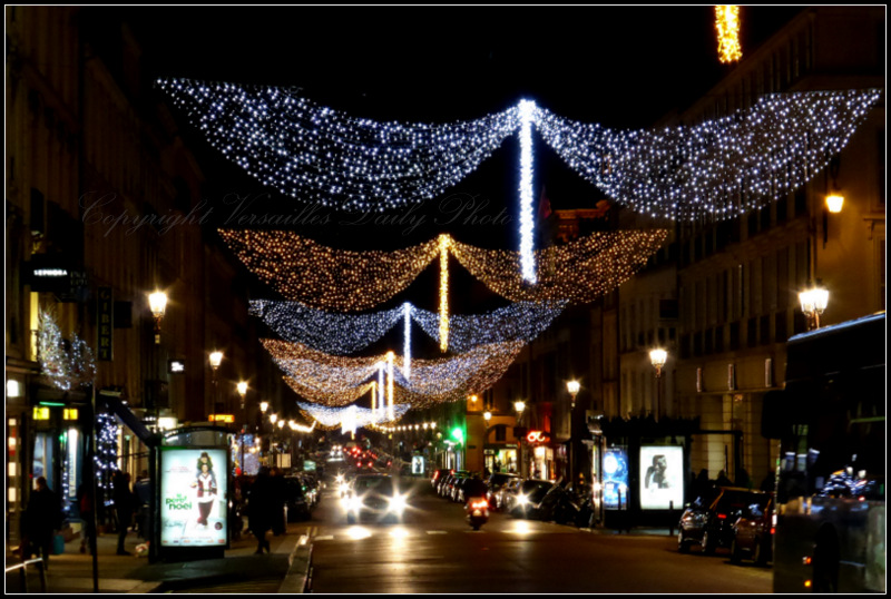 Christmas street lights Versailles