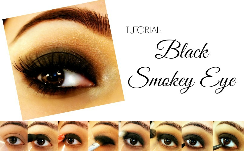 Black Smokey Eyes - Tutorial