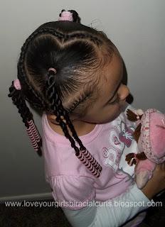 love your girls biracial curls valentine's heart