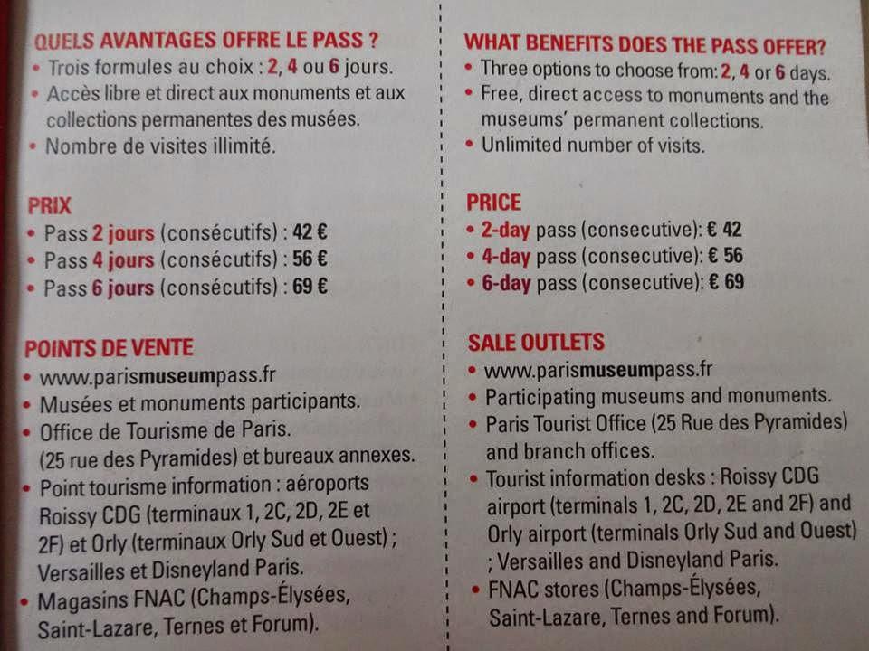 Vale a pena comprar o Paris Museum Pass?