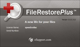 recovers deleted files