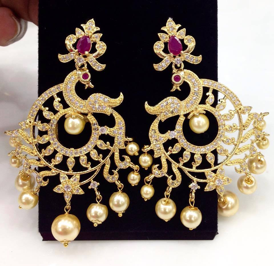 Latest Chand Balis Collection Online Earrings