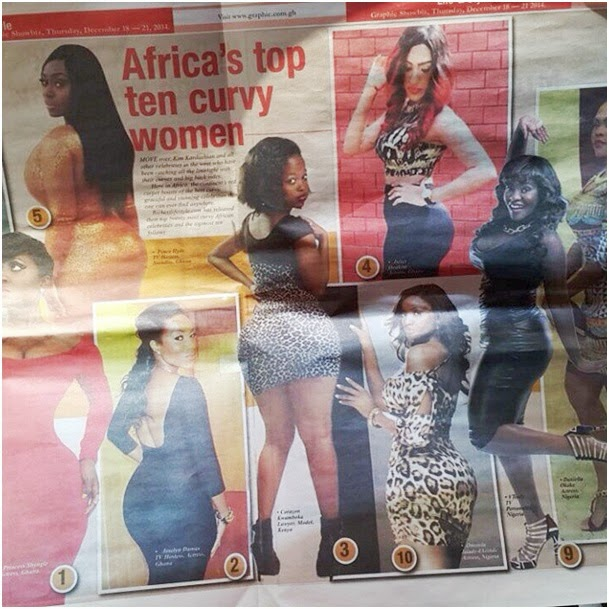 News Kenya: Socialite CORAZON listed as one of the most Curvaceous ...