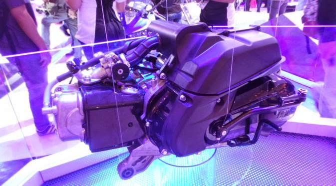 Yamaha Siap Rilis Skutik Blue Core Akhir Tahun
