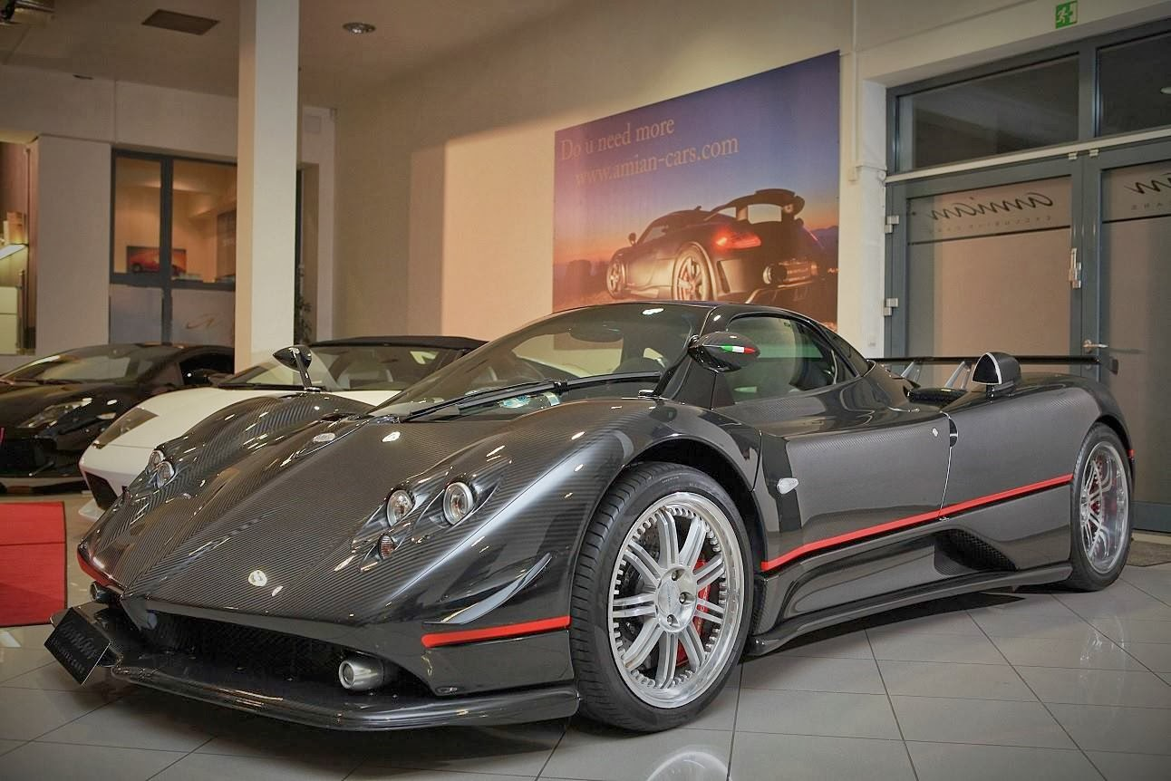 Prototype 0: Pagani Zonda GJ Updated and put For Sale