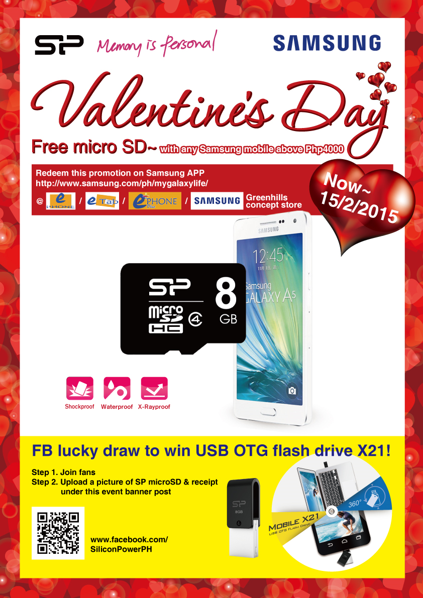Silicon Power Valentine's Day Poster