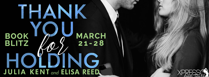 Thank You For Holding Book Blitz
