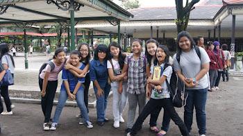 #ELMC girls w/ Bu Mrtn