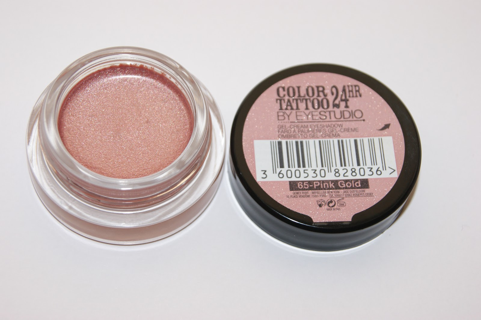 Maybelline Color Tattoo 24hr Eyeshadow in Pink Gold - Review