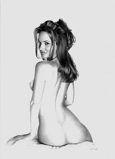 Desnudos Femeninos Dibujados a Lapiz