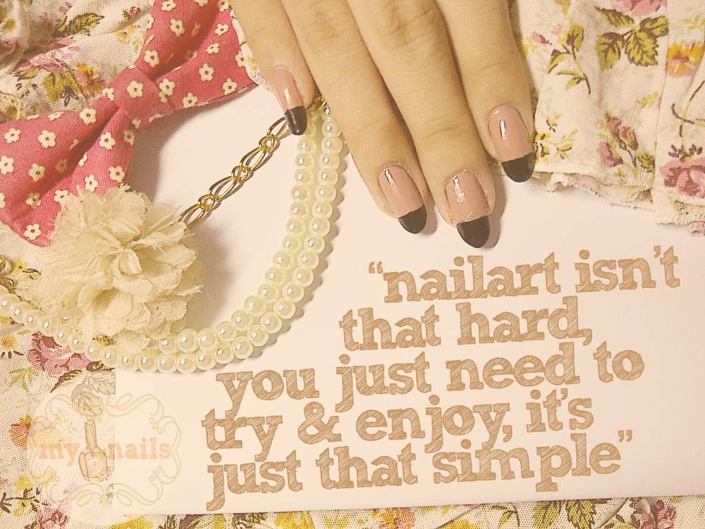 mayang\'s nails ♥: My Nails\' Quotes