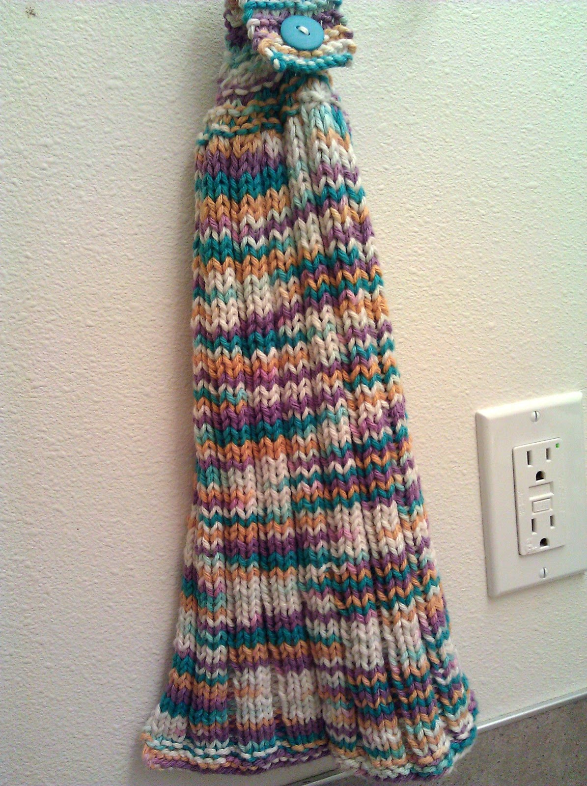 Knit Kitchen Towel Patterns : Dancing in the Rain: My First Published Knitting Pattern!